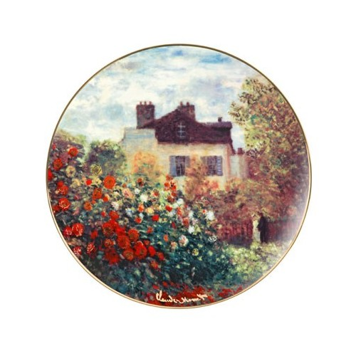 Ozdobný porcelánový tanier The Artist´s House 36cm, limitovaná edícia