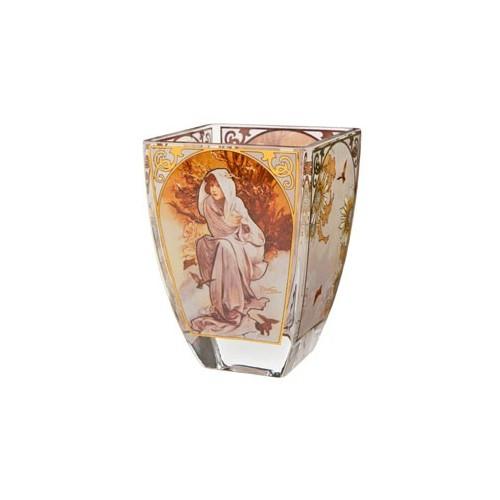 Svietnik na čajovú sviečku Zima 11 cm