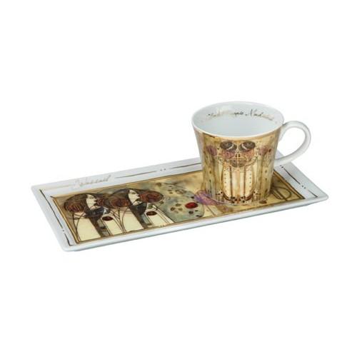 Kávová šálka s podšálkou 2ks, Charles Mackintosh - Wassail, 0,15l, 20x12cm