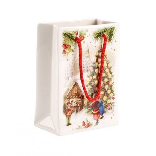 Váza darčeková taška malá 11x6x15cm