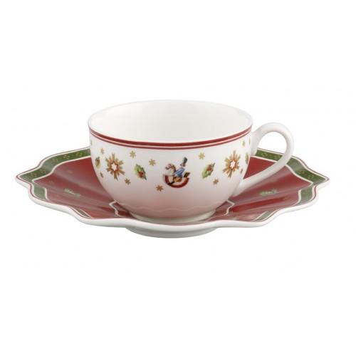 Kávová/čajová šálka s podšálkou 2ks