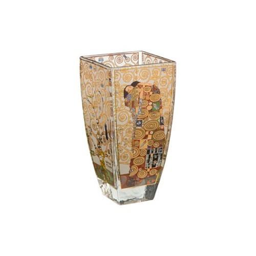 Sklenená váza 16 cm