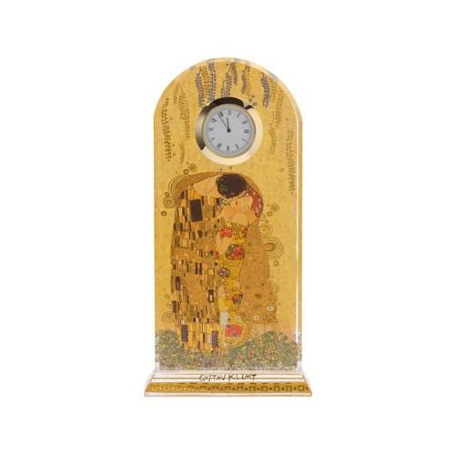 Krištáľové stolové hodiny 23cm