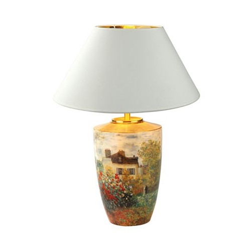 Porcelánová lampa The Artist´s House elektrická 60W, v.61cm
