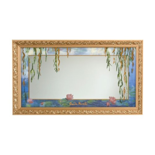 Zrkadlo 84x48 cm