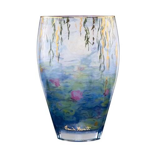 Sklenená váza v-50 cm