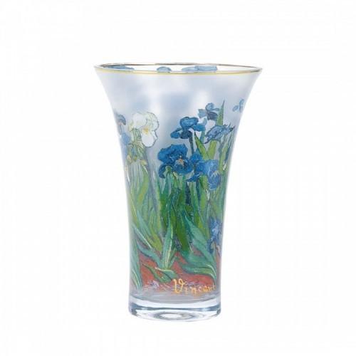 Váza Iris v.19cm, sklo