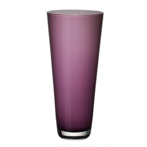 Váza Verso 38cm soft raspeberry