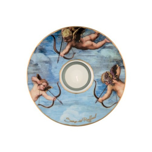 Porcelánová podložka pod čaj.sv. Raffael - Triumph of Galatea, 15cm