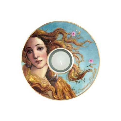 Porcelánová podložka pod čaj.sv. Sandro Botticelli - The Birth of Venus, 15cm