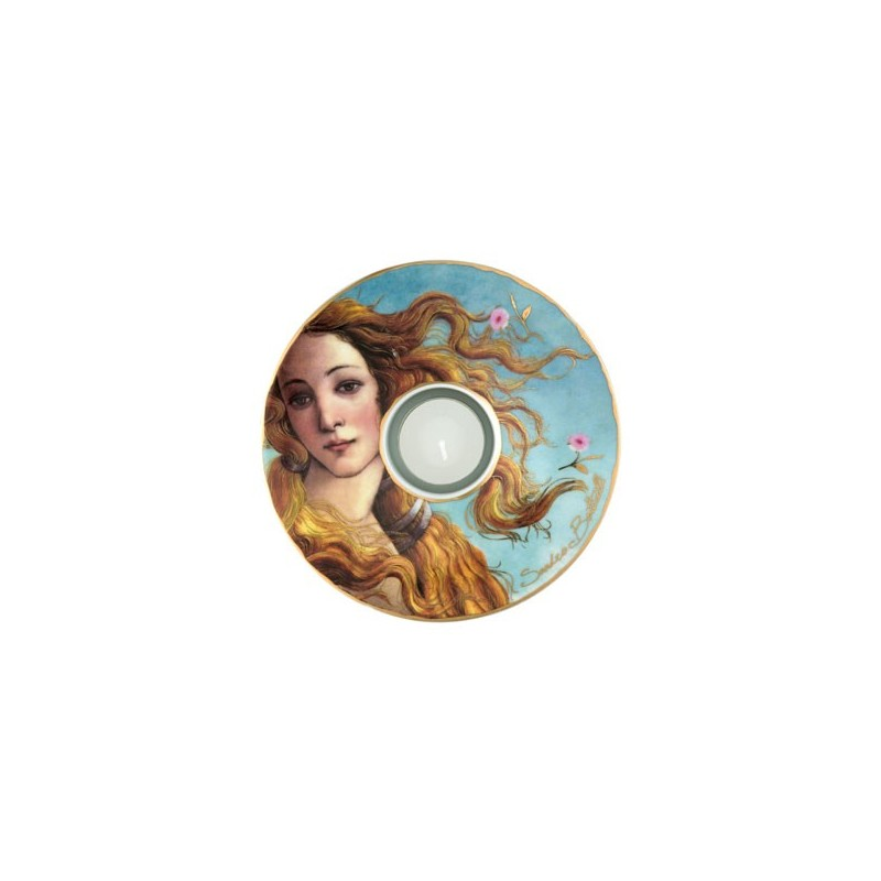 Porcelánová podložka pod čaj.sv. Sandro Botticelli - The Birth of Venus, 15cm