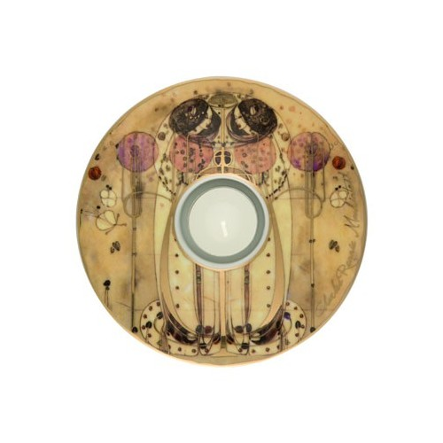Porcelánová podložka pod čaj.sv. Charles Mackintosh - Wassail, 15cm