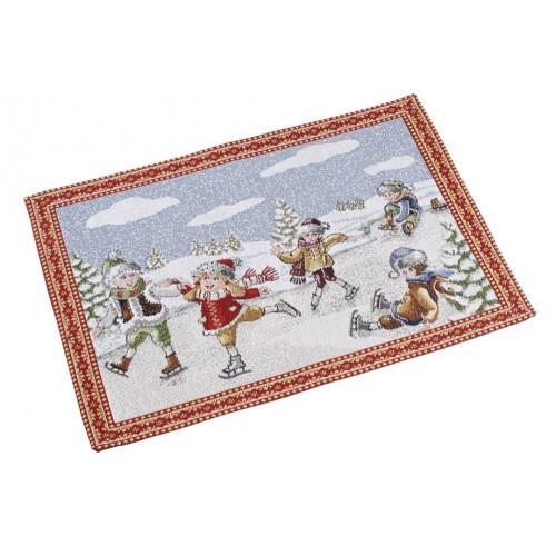 Vianočný vyšívaný gobelín pre jedného 35x50cm