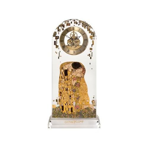 Sklenené hodiny na stôl 32 cm