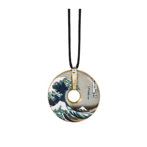 Porcelánový šperk, Hokusai - The Wave, 4,5cm, 58cm