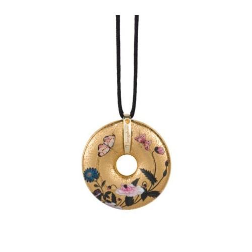 Porcelánový šperk, Hongshou - Butterflies, 4,5cm, 58cm