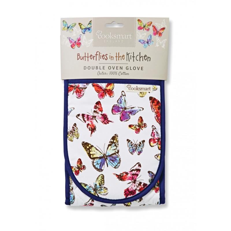 Butterfly dvojitá kuchynská rukavica na plech