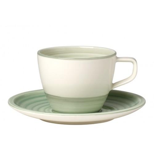 Kávová šálka s podšálkou, set 2 ks