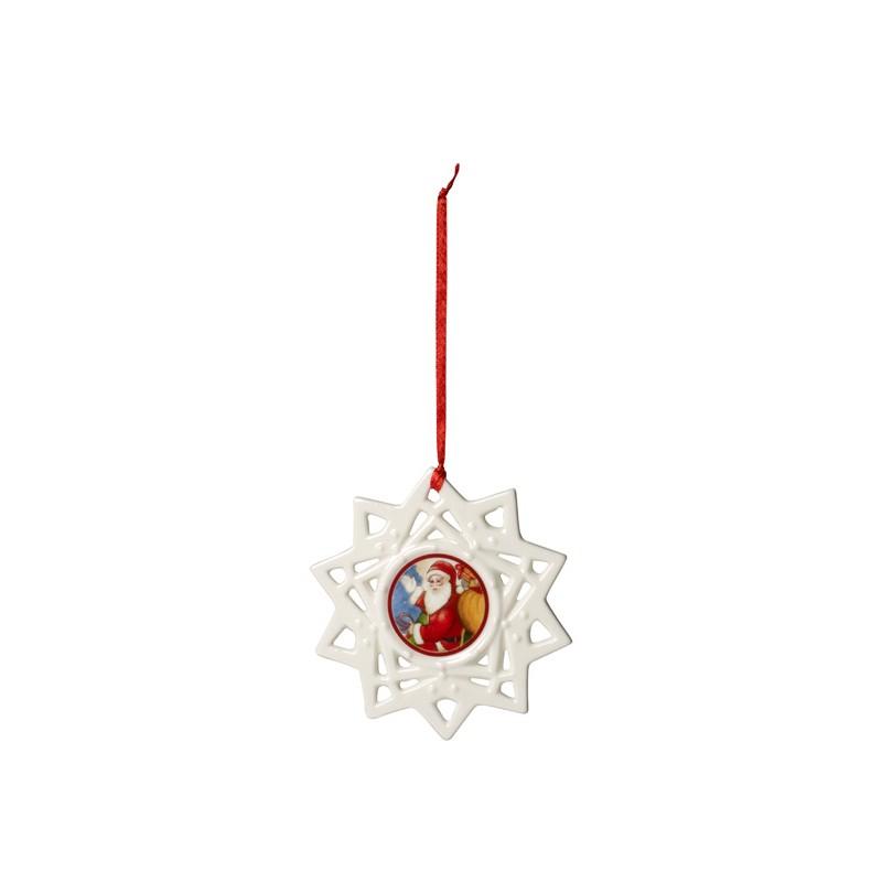Ornament hviezda 10cm