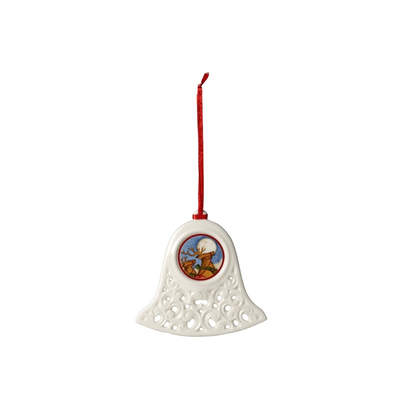 Ornament zvonček 10cm