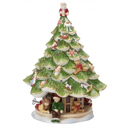 Veľký vianočný stromček s deťmi 30cm