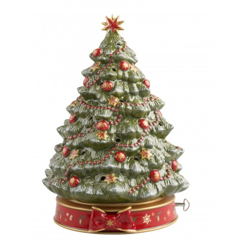 Vianočný stromček box hrací 33cm