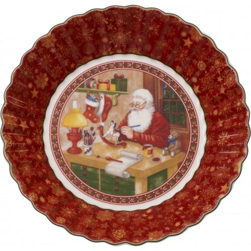 Obdĺžnikové koláčové plató vláčik 35x22,5x3,5cm
