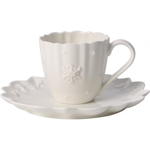 Kávová/čajová šálka s podšálkou 0,23l