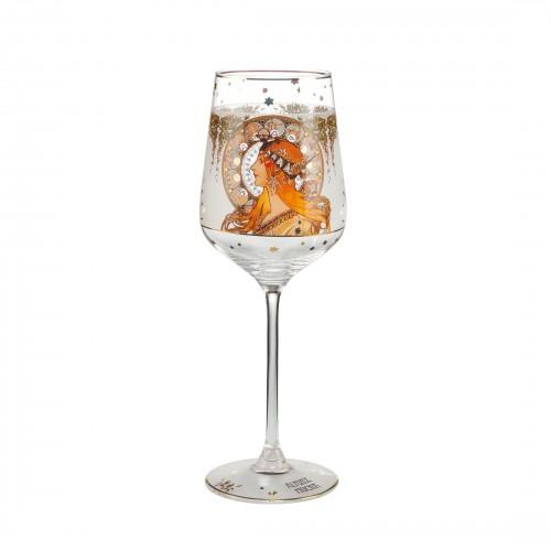 Krištáľový pohár na víno Zodiac v. 25cm
