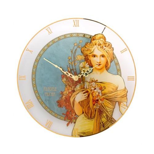 Krištáľové hodiny Jar 30,5cm