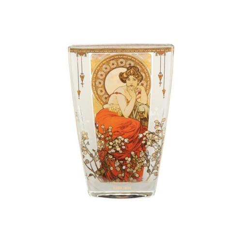 Krištáľová váza Topaz v. 23cm