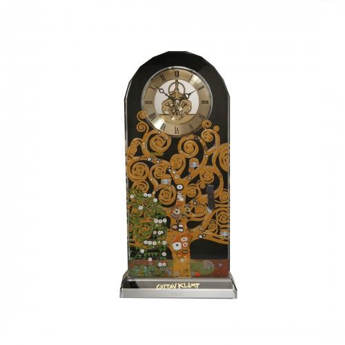 Krištáľové hodiny na stôl v.25,5cm