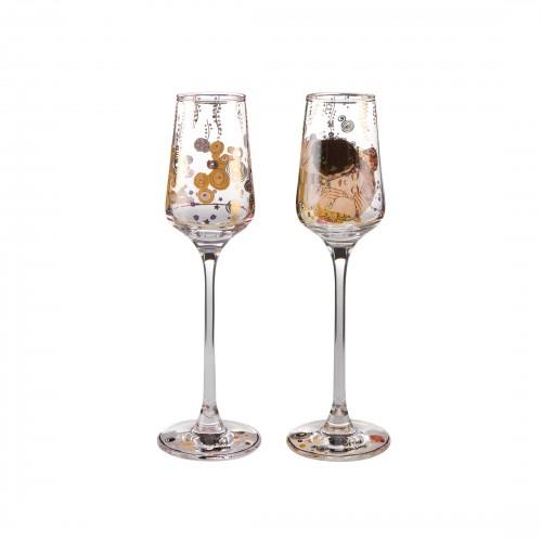 Set krištáľových pohárov na likér 20cm/0,1l
