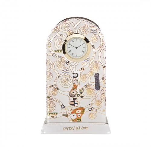 Krištáľové stolové hodiny 18,5cm