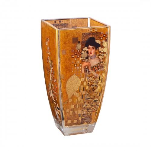 Krištáľová váza Adele Bloch Bauer v.22,5cm