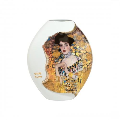 Krištáľová váza Adele Bloch Bauer v.20cm