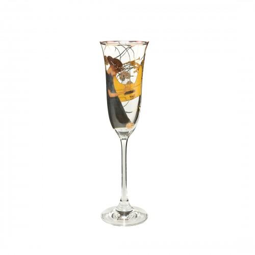 Krištáľový pohár na šampanské 24cm/0,1l