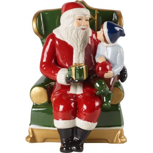 Santa s kreslom 10x10x15cm