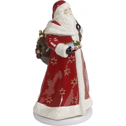 Zvonkohra točiaci sa Santa 34cm