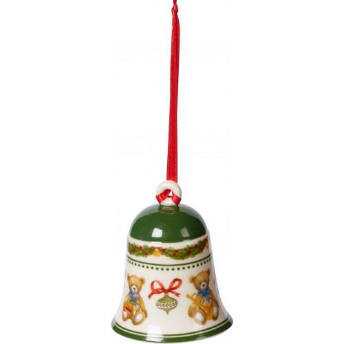 Zvonček na stromček 5,5x5,5x6,9cm